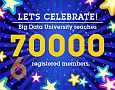 Over 50000 users registered on BDU