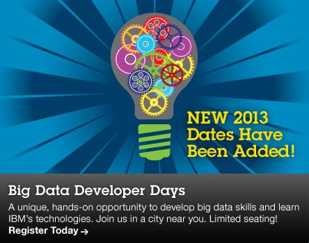Big Data Developer Days: Understanding big data for the enterprise