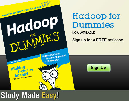 Hadoop for Dummies ebook: discover Effective Data Solutions for Your Organization