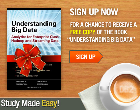 Sign up now for a chance to receive a free copy of the book Understanding Big Data